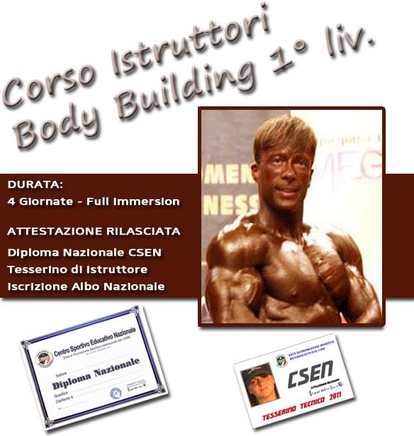 CSEN BRINDISI - Corso Istruttori Body Building