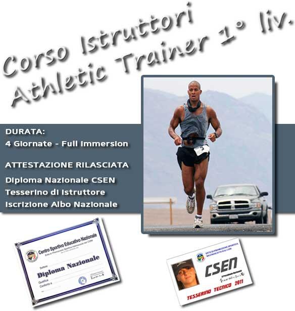 CSEN BRINDISI - Corso Istruttori Athletic Trainer 1° liv
