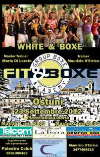 CSEN BRINDISI - WHITE & BOXE Ostuni 23 Settembre 2012