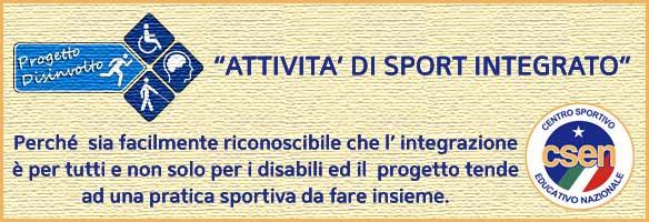 Progetto Disinvolto - Sport Integrato